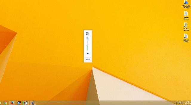 Исправлено: экран громкости постоянно мерцает в Windows 8.