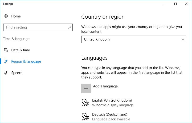Как скачать и установить пакеты MUI для Windows 10