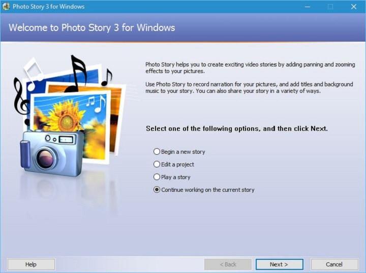 Как скачать и установить Photo Story в Windows 10