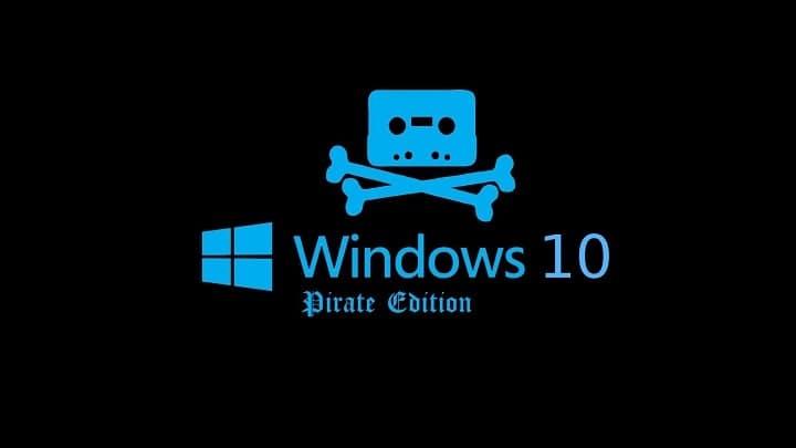 Каковы риски использования пиратской Windows 10?