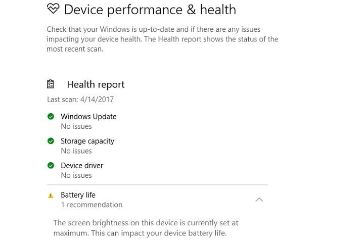 Как отключить предупреждение о максимальной яркости Защитника Windows