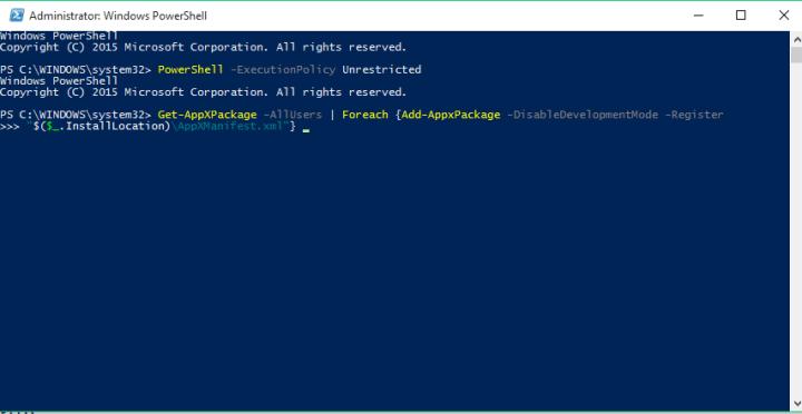 Arreglar: Caja negra intermitente en Windows 10