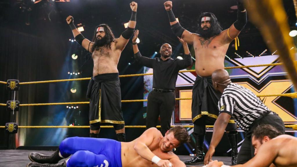 Indus Sher en WWE