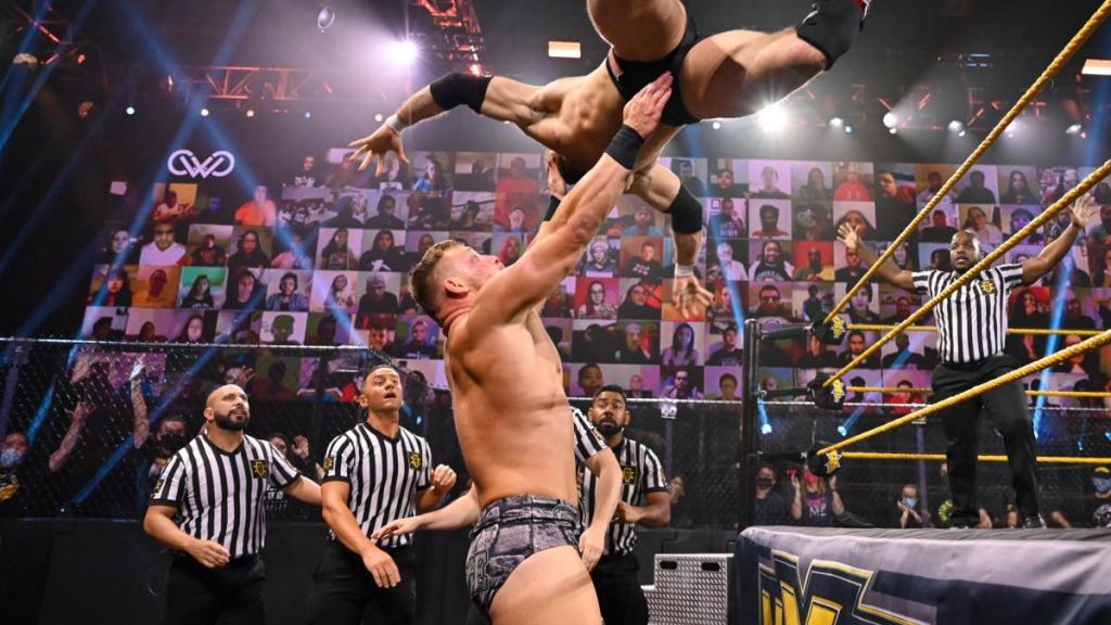 Holland en NXT