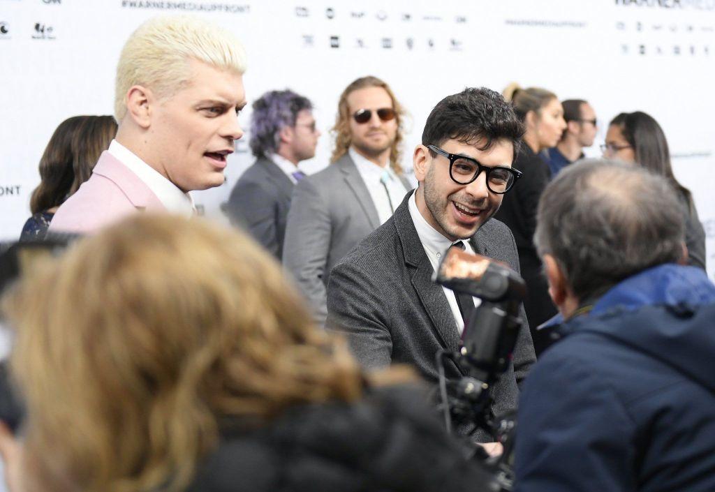 Cody con tony Khan