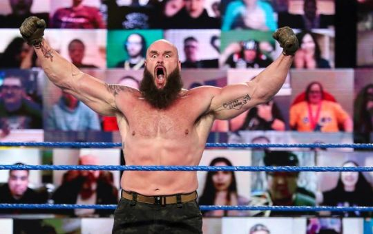 Strowman en su regreso a WWE