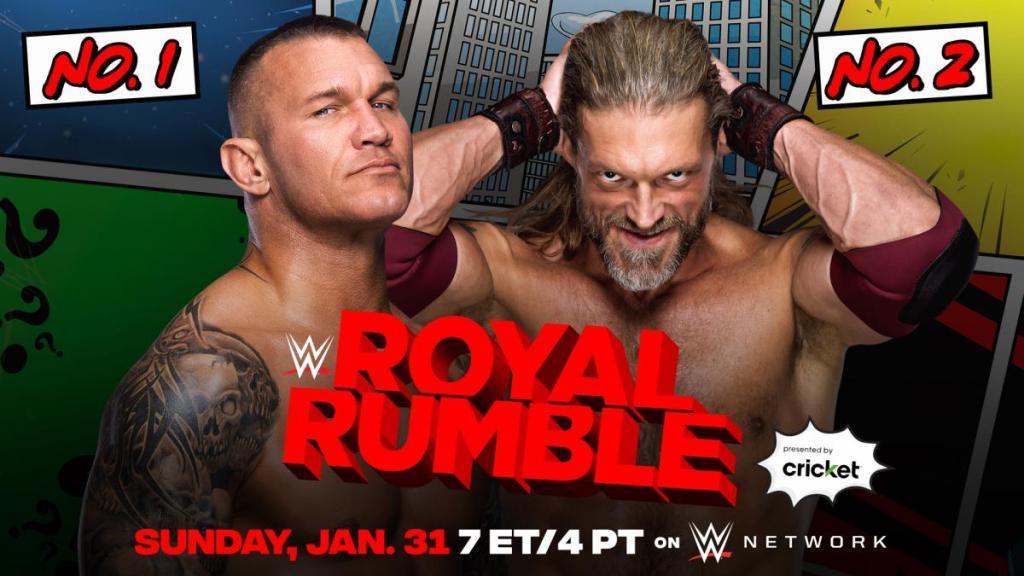 Orton y Edge serán el uno y el dos