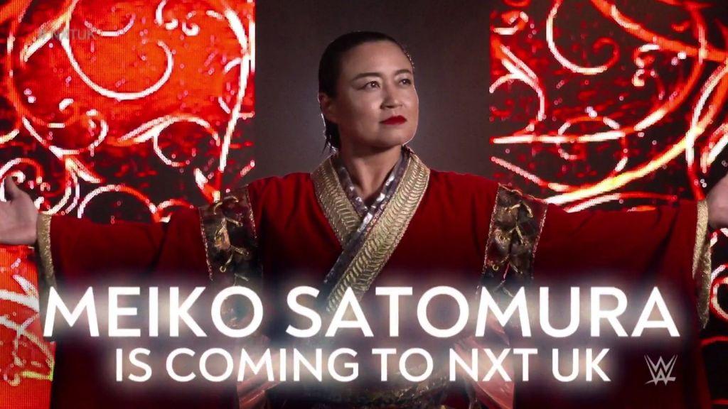 Cartel anuncio de Satomura