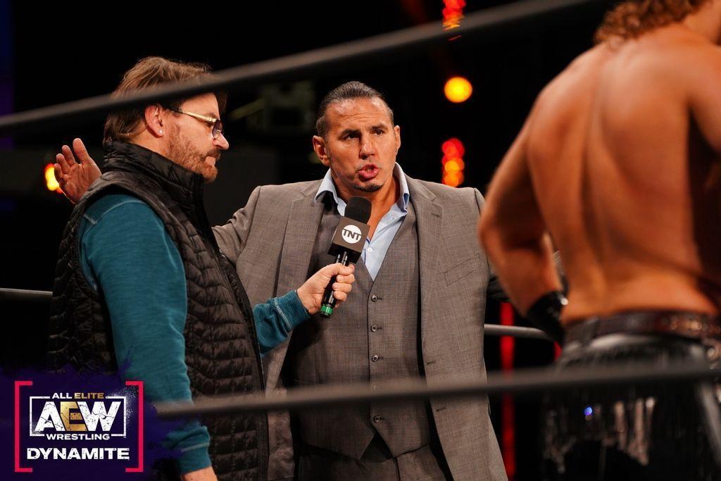 Matt Hardy en AEW Dynamite