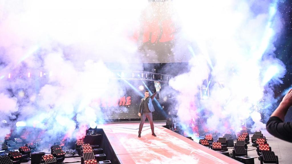 The Miz en Raw