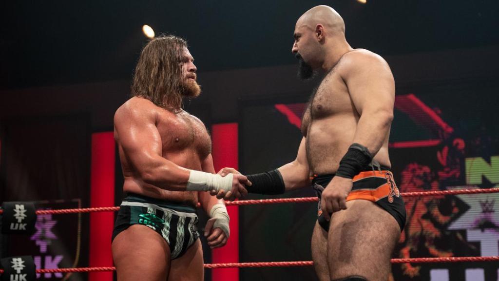 Brown y Coffey en NXT UK
