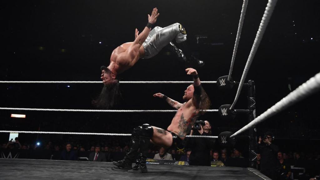 Andrade y Aleister en NXT