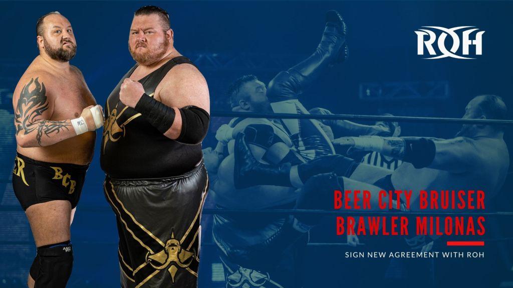 The Bouncers renuevan en ROH