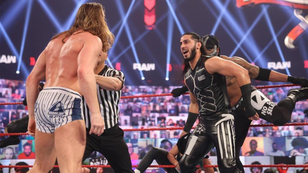 Ali en el último Raw