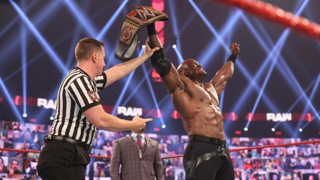Bobby Lashley como campeón