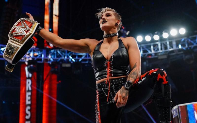 Rhea Ripley en WrestleMania 37