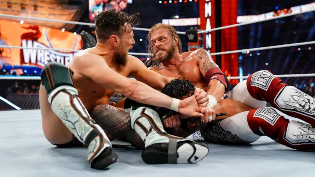 Edge vs Roman vs Bryan