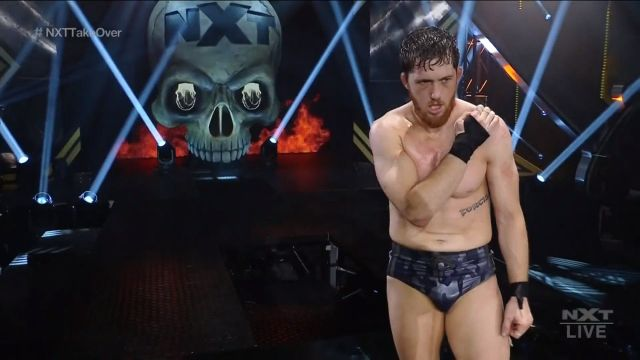 O Reilly tras el combate
