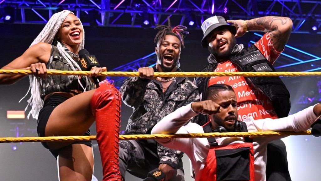 Hit Row en NXT