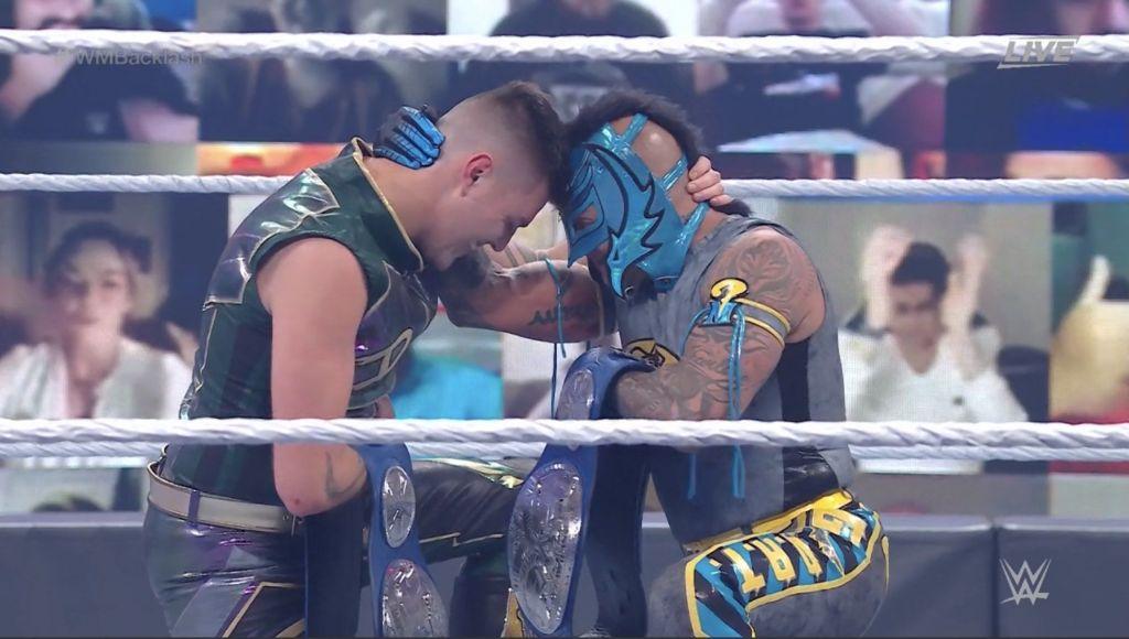 Rey y Dominik mysterio