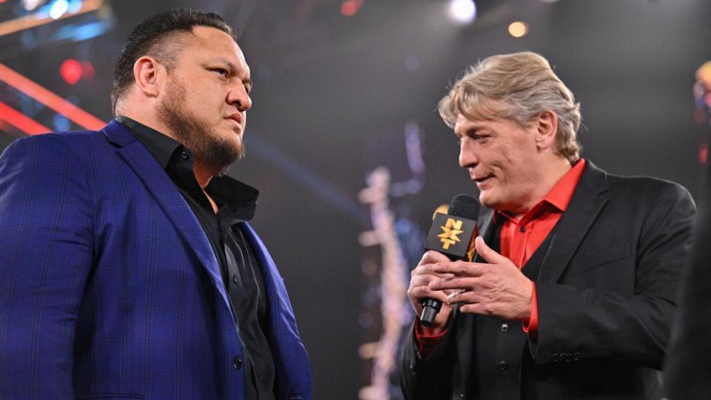 Samoa Joe con Regal