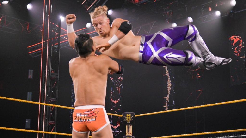 Trey Baxter en NXT