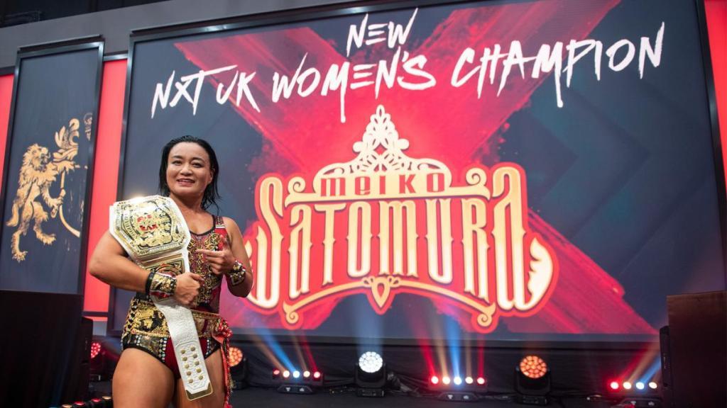 Satomura WWE