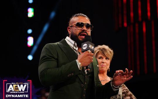 Andrade en AEW