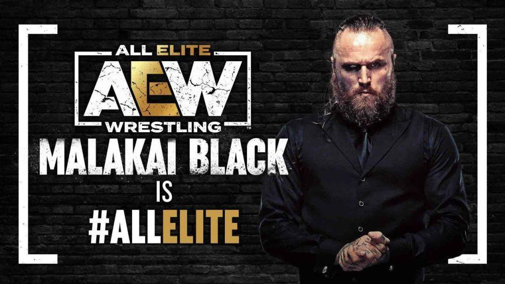 AEW oficializa la llegada de Malakai Black
