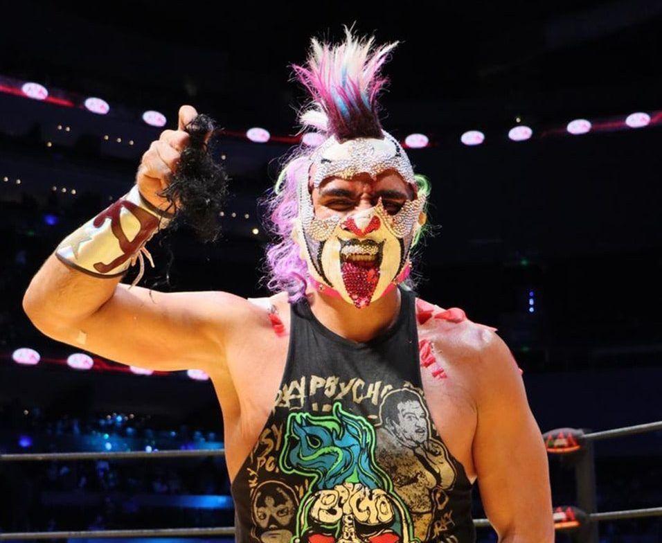 Psycho Clown en Triplemania XXIX