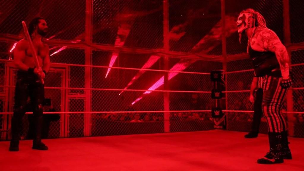 The Fiend vs Seth Rollins