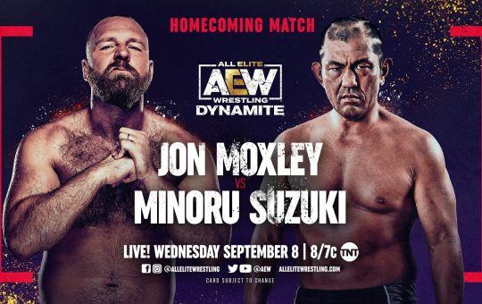 Moxley vs Suzuki