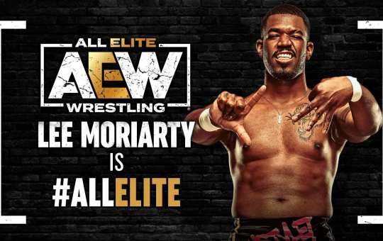 AEW firma a Lee Moriarty