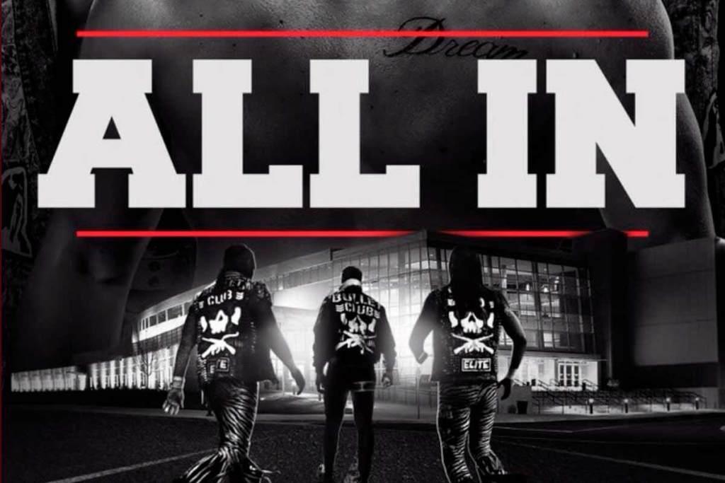 WWE pidió a sus luchadores que no estuvieran en All In