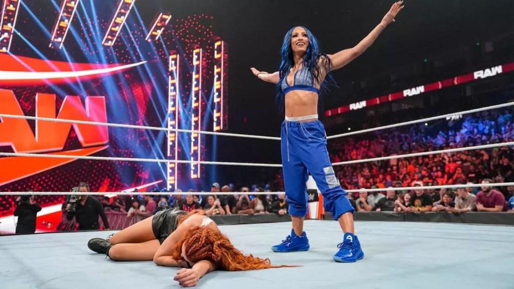 Sasha Banks en Raw