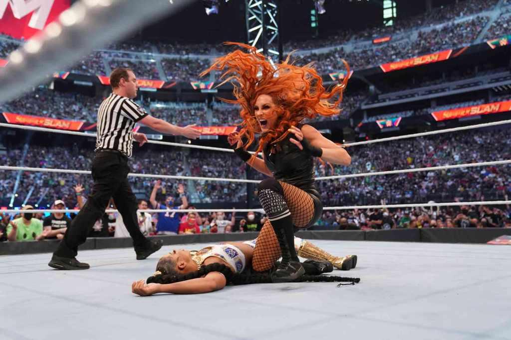 Becky Lynch explica su victoria sobre Bianca Belair
