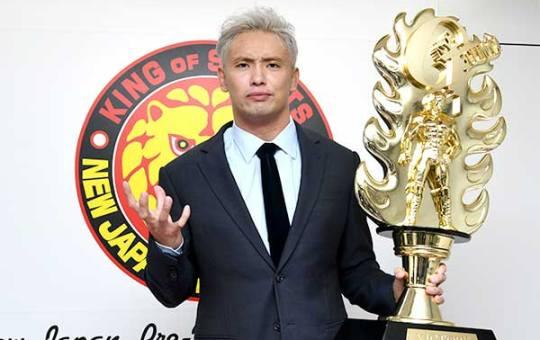 Okada regreso IWGP World Heavyweight Championship