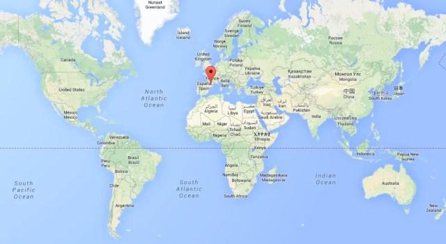 Mapa Mundo Andorra