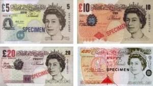libras billetes