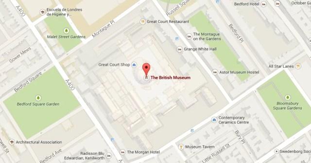 mapa british museum