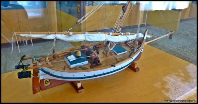 maqueta de un barco