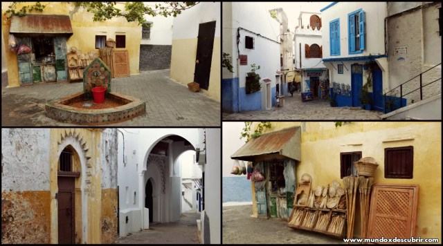 Collage kasbah calles