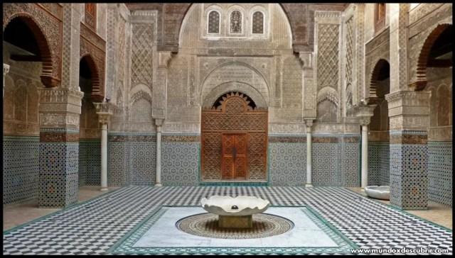 Madraza Attarine Fez – Marruecos