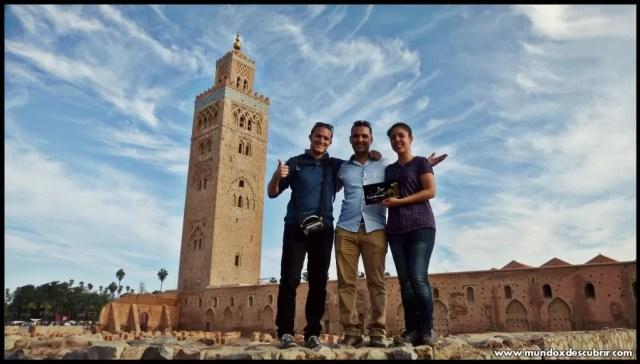 Mezquita Kutubía Marrakech - Marruecos