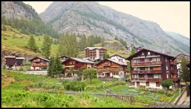 pueblo alpino de suiza