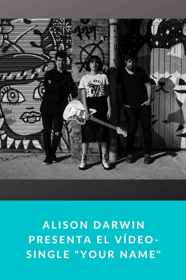 Alison Darwin estrena nuevo Vídeo-Single «Your Name»