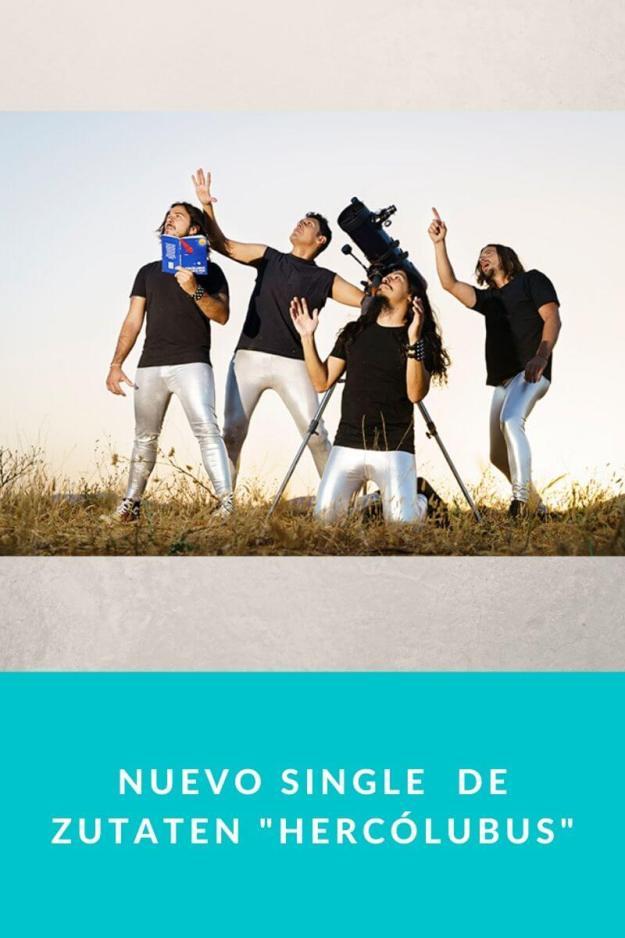 Nuevo single  de Zutaten «Hercólubus»