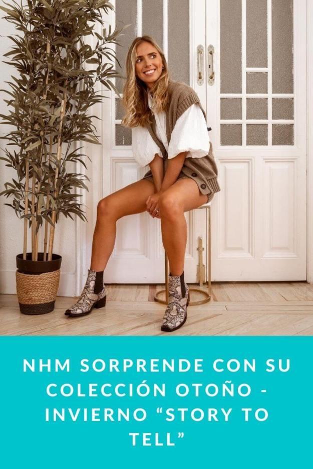 """NHM sorprende con su colección otoño – invierno """"Story to Tell"""""""