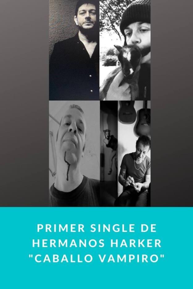 Primer single de Hermanos Harker «Caballo Vampiro»