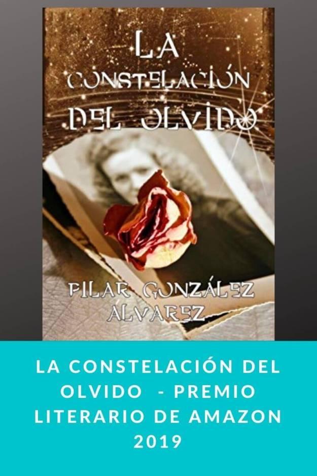 La constelación del olvido de Pilar González – Premio literario de Amazon 2019